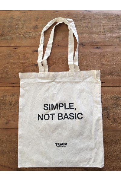 Eco Bag Simple Not Basic